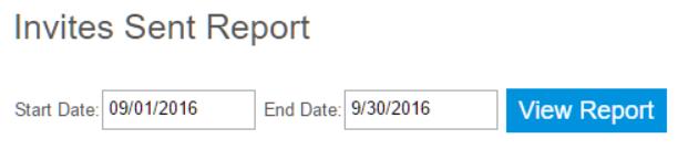 InviteReport